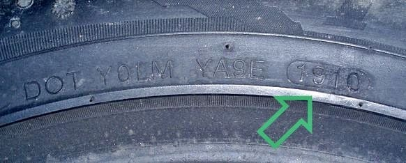 Дата производства шины